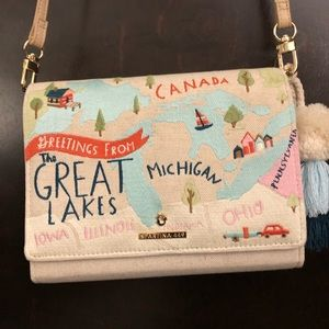 Spartina cross body purse